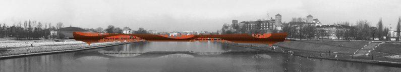 Widok z mostu Grunwaldzkiego