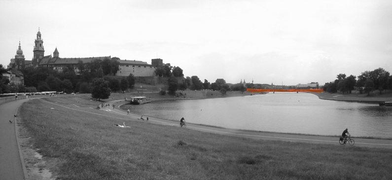 Widok z Bulwaru Czerwieńskiego