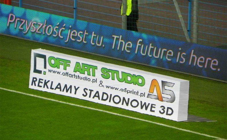 Reklamy stadionowe 3D