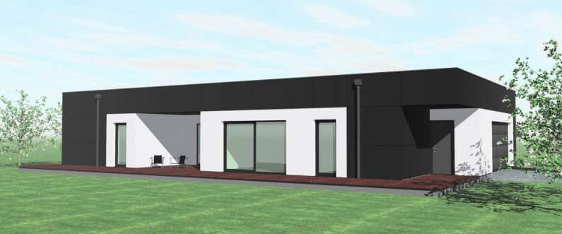 Projekt domu jednorodzinego